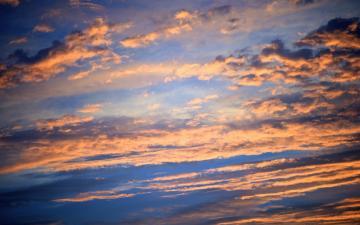 黄昏云彩风景