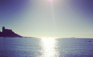 海水那么蓝-好运图库