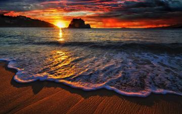 海上日落-好运图库