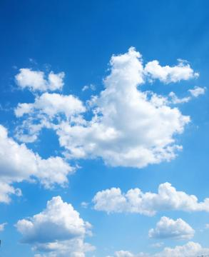 湛蓝湛蓝的天空-好运图库